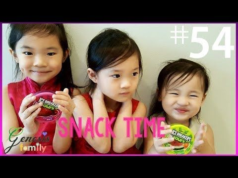 Brighten your Day and Laugh with Genesis Family!: Snack Time Review: | Ice Breakers Sours | Funny Ge...