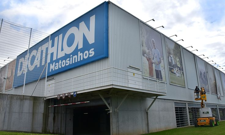 DECATHLON . STORES Inside and Outside Signage Production -  5 Stores, Portugal