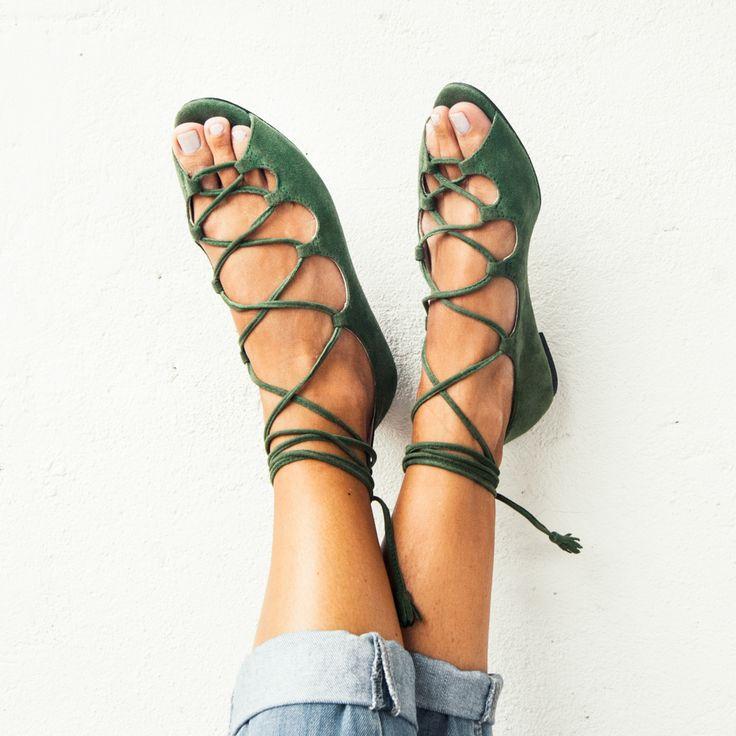 """Vinci Shoes (@vincishoes) no Instagram: """"Trend color now! #color #militar #color #green #vincishoes"""""""