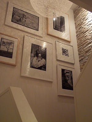 Ideas for our loft.Pics of our girls blown up in large frames
