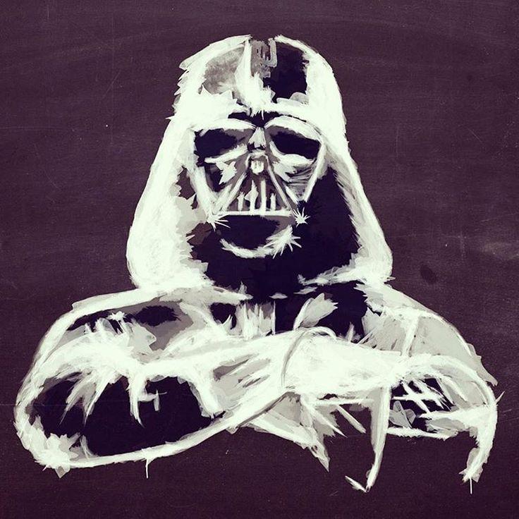 Giuseppe Skid Truscelli -  Darth Vader - illustration