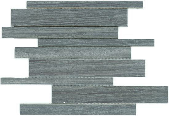 Description Replica of vein-cut marble in a brick styled mosaic in glazed porcelain.     Usage Floors Walls Residential Commercial  Residential walls and floors. Commercial walls, medium-high traffic floors.