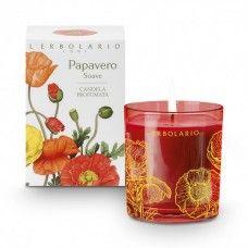 Pipacs illatú illatgyertya - Rendeld meg online! Lerbolario Naturkozmetikumok http://lerbolario-naturkozmetikumok.hu/kategoriak/illatos%C3%ADto-termekek