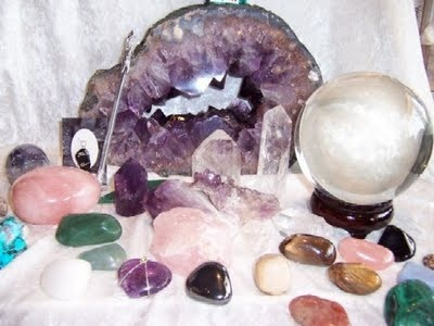 Herb and Crystal Spell