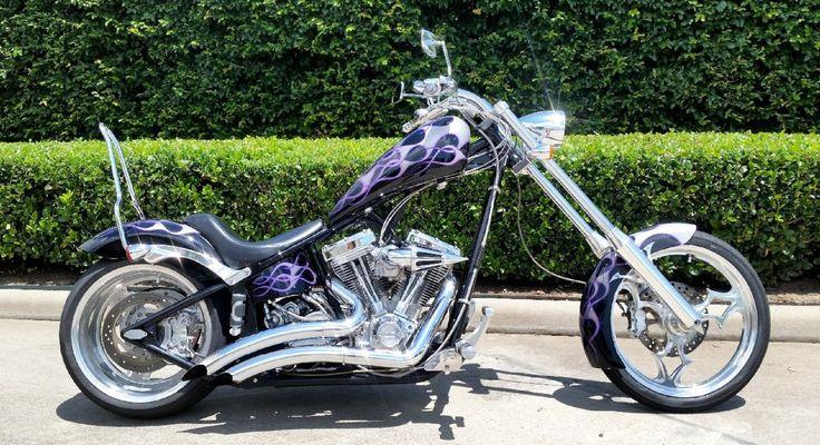 Big Dog Motorcycles Softail Chopper