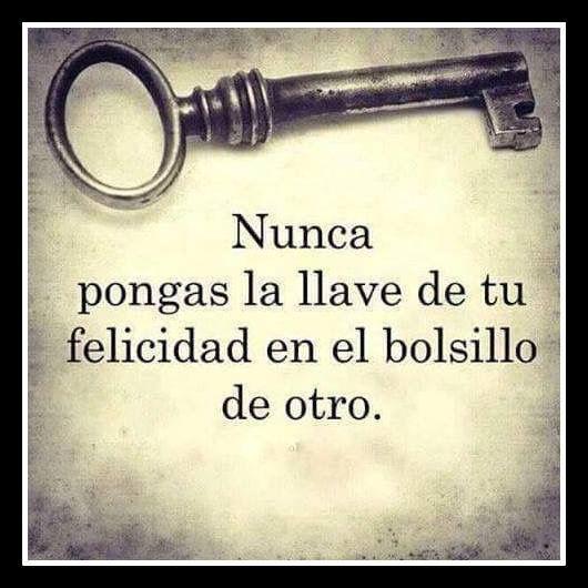 Si me quieres, buscarás esa llave por todo el mundo ♡