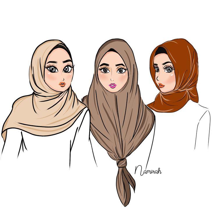 Which one your square scarf style? *mira tauu banyak lg style korang kannn but pick one your lazy style girls Style yg selalu mira buat adalahhhhh yg no 2 tuu. Ikat bunjut senang!  . #namirahsketches #fashionillustration