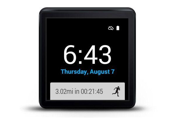 Wear Run, Android Wear se dote d'un suivi de vos performances sportives