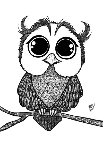 Baby Owl Art Print Art Zy In 2019 Pinterest Owl Art