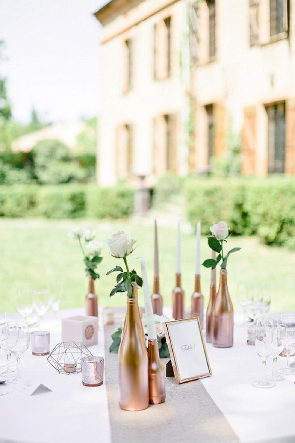 outdoor french wedding breakfast | Image by Zoom sur l'emotion