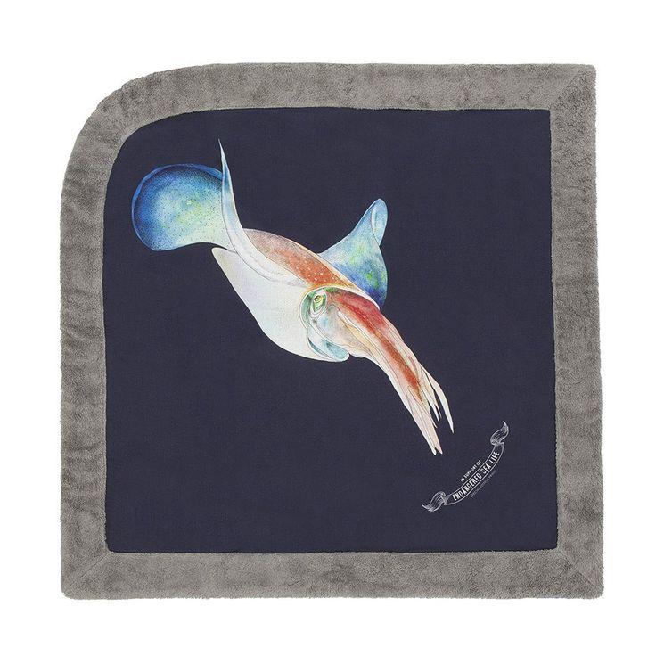 WWF Calamari   Baby Towel - Sun of a Beach
