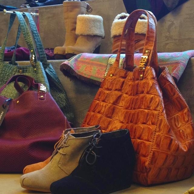 Shoes bags etc...