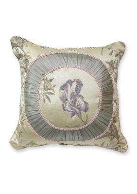 Croscill Multi Iris Fashion Pillow