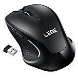 #10: Kabellose Maus, Lencent Schnurlos Maus Wireless Mouse 2.4G Drahtlose Maus 2400 DPI 6 Tasten mit USB Nano Empfänger Für PC Laptop und…