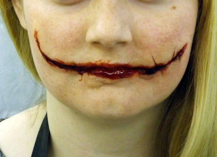 Joker Scars Prosthetic Chelsea Smile by KensaiFX on Etsy https://www.etsy.com/uk/listing/251798037/joker-scars-prosthetic-chelsea-smile