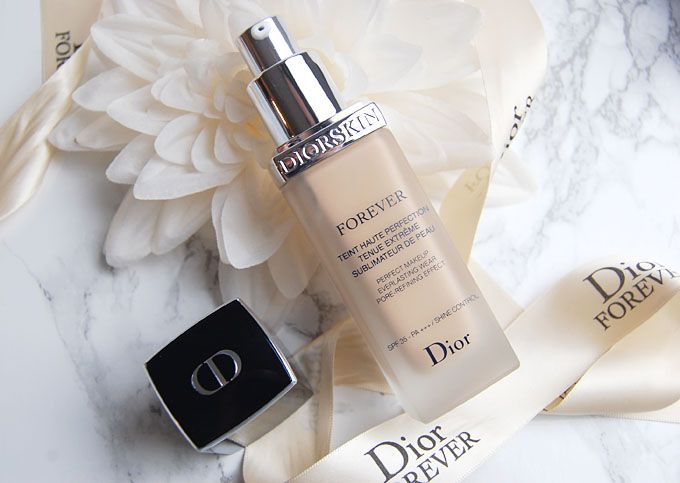 DIORSKIN FOREVER FOUNDATION FIRST IMPRESSIONS/REVIEW