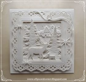 Elly's Card- Corner: WITTE kerst...
