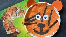 Paper Plate Tiger - Kid Craft