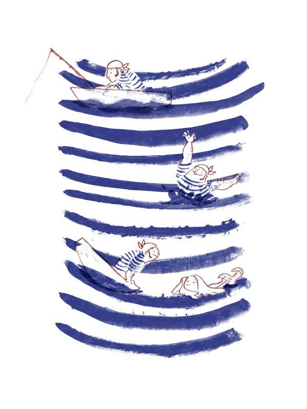 CHILDREN BOOKS - Ester Garay, ilustradora. #illustration #sailor #ilustración #childrenbook #childrenillustration #ilustracióninfantil #infantil #marinero #mermaid #sirena #mar #sea #water #agua #sailing #navegar #sail