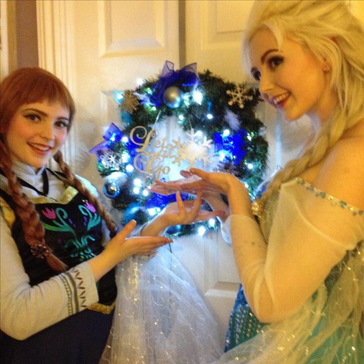 Frozen Christmas Trees