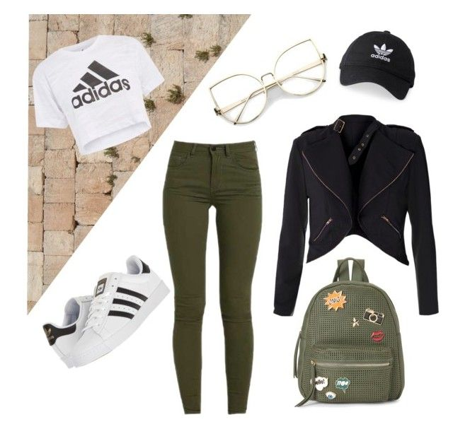 """""""osz"""" by lillus-lako-ll on Polyvore featuring Topshop, adidas and IMoshion"""
