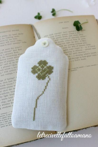 embroidery tags - cross stich kazuk aoki
