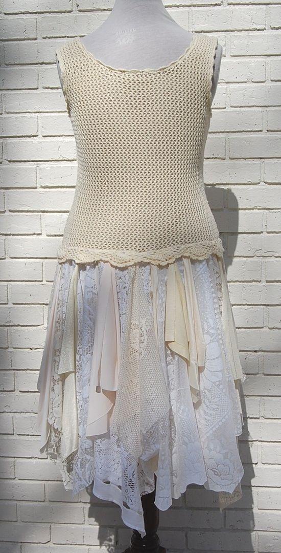 Shabby, Gypsy Upcycled Clothing