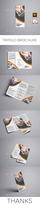 Trifold Brochure on @codegrape. More Info: https://www.codegrape.com/item/trifold-brochure/13378