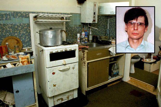 Dennis Nilsen's kitchen