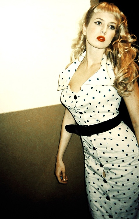 Traci Lords in Cry Baby - love her! love that dress. #beautifulwomen