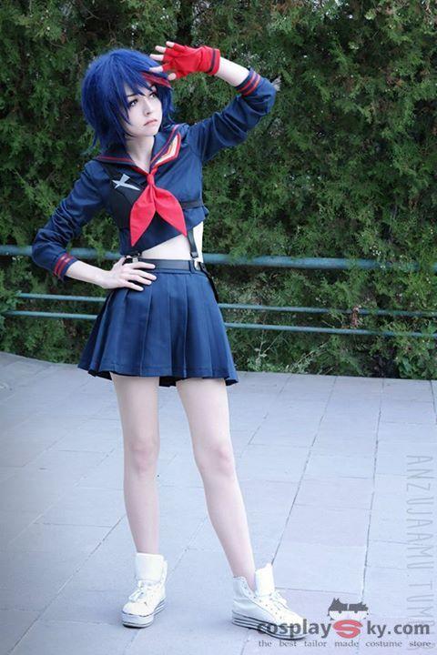 KILL la KILL Ryuko Matoi Cosplay Costume $55.00 http://cosplaysky.com/kill-la-kill-ryuko-matoi-cosplay-costume.html Cosplayer: Anzujaamu