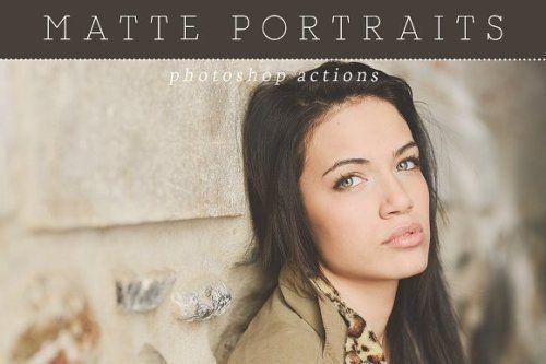 designeour:    Matte Portrait Photoshop Actions by Presets...