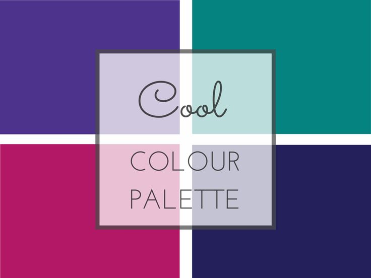 Cool colours are medium intensity with a neutral undertone and a lot of depth. If you like cool colours these might be some to try.