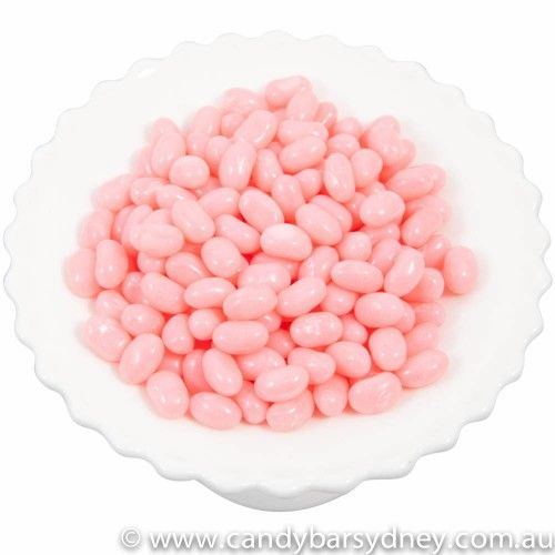 Pink Bubblegum Jelly Beans by Jelly Belly 1kg