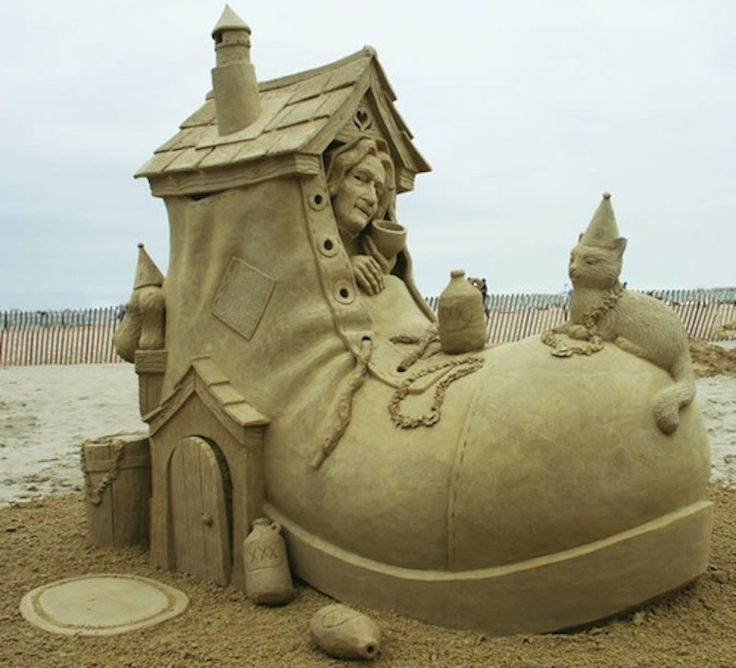 Sand Castles Aren't Just for Kids.