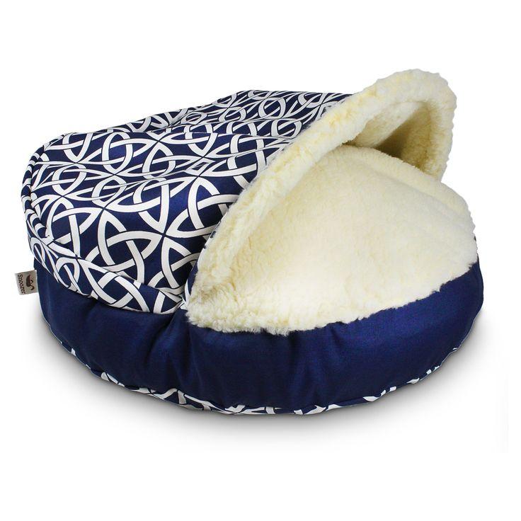 Have to have it. Snoozer Luxury Pool & Patio Cozy Cave Pet Bed - $64.95 @hayneedle
