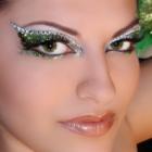 Halloween dragon makeup