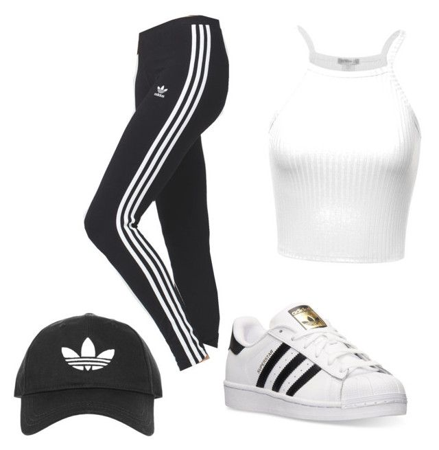 """Adidas Time!!"" by nayathomas on Polyvore featuring adidas and Topshop"