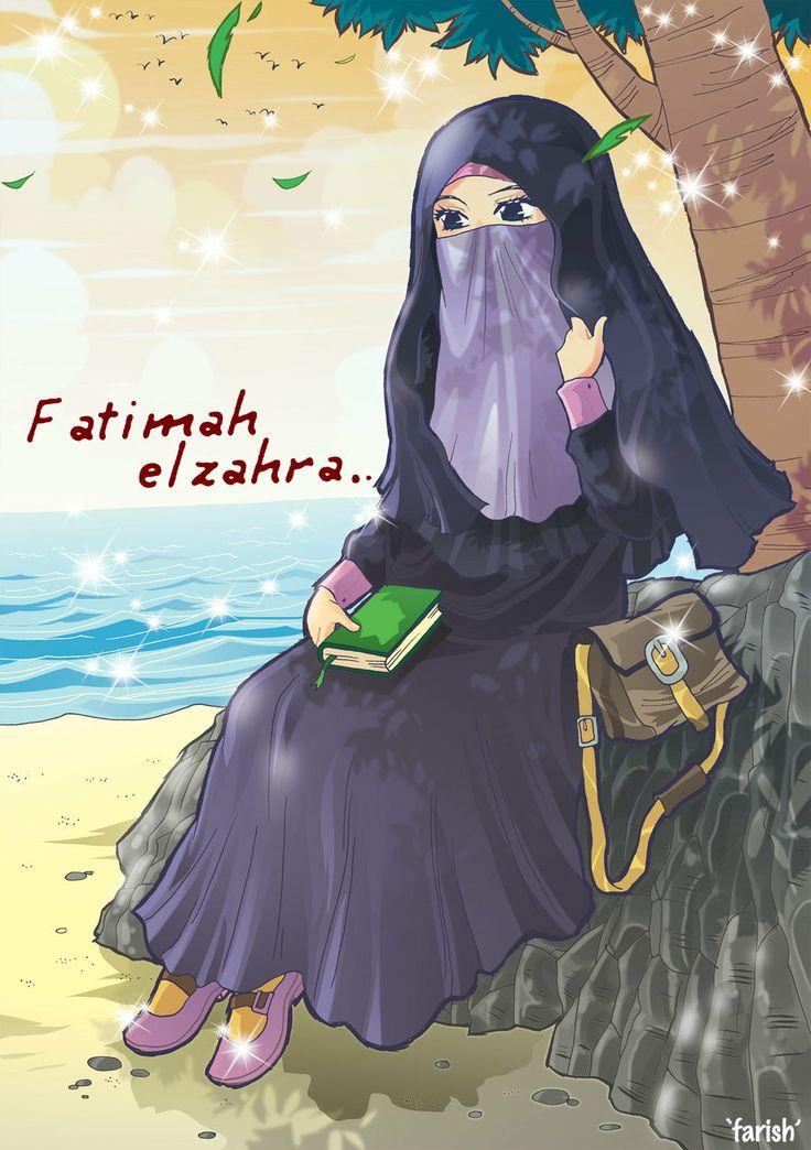 Fatimah Elzahra by saurukent.deviantart.com on @deviantART