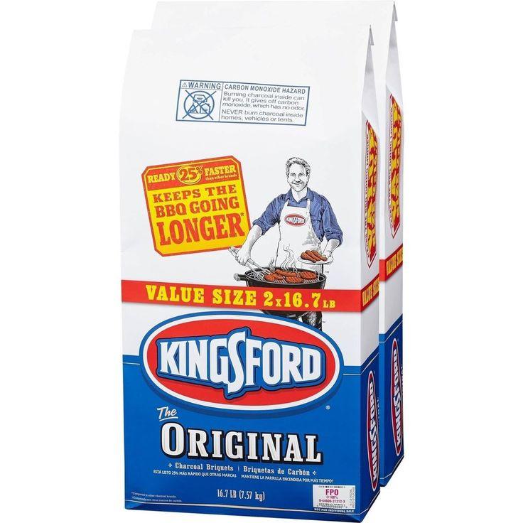 Kingsford original charcoal briquettes bbq grill cooking