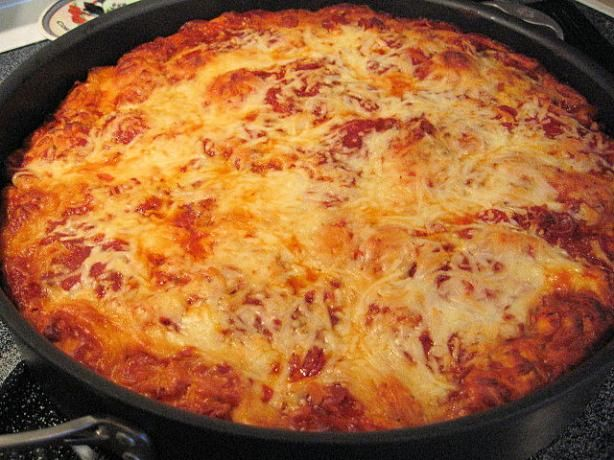 Bubble Up Pizza (from Pampered Chef) - Making a variation of this today.  If it needs tweaking, I'll try this recipe next time!