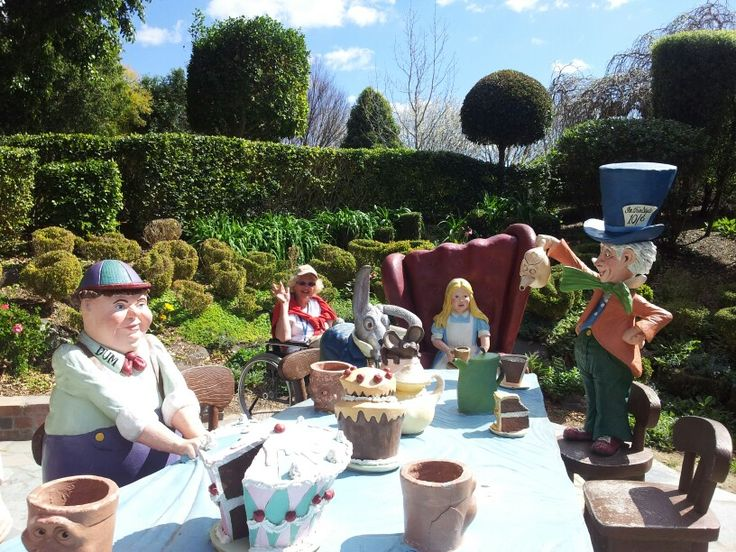 Mad hatters tea party.... hunter valley gardens
