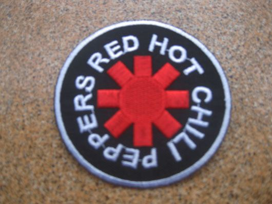 red hot chili peppers Music Patch Badge by happinessseller2530, $3.59