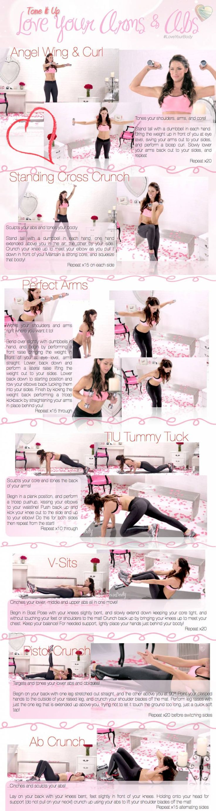Great for arms and abs!