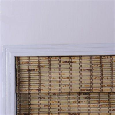 Arlo Blinds 04TBB Tropical Rustic Bamboo Roman Shade