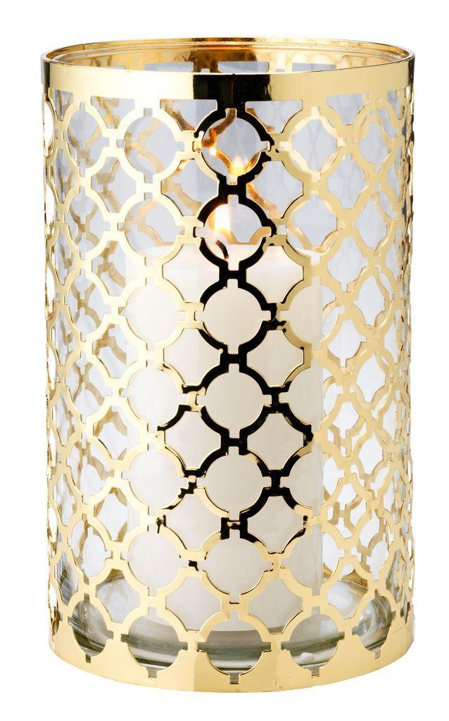 Felinar EJNAR 13x21cm sticlă/metal | JYSK