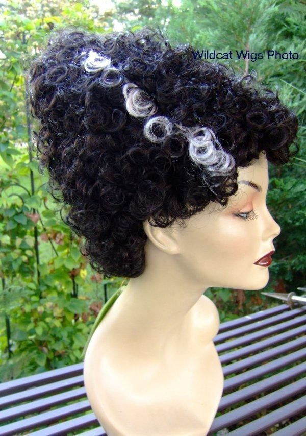 Bride Of Frankenstein Wig .. QUALITY WIG .. NOT JUNK!  Monster Bride * #WonderfulYou #FullWig