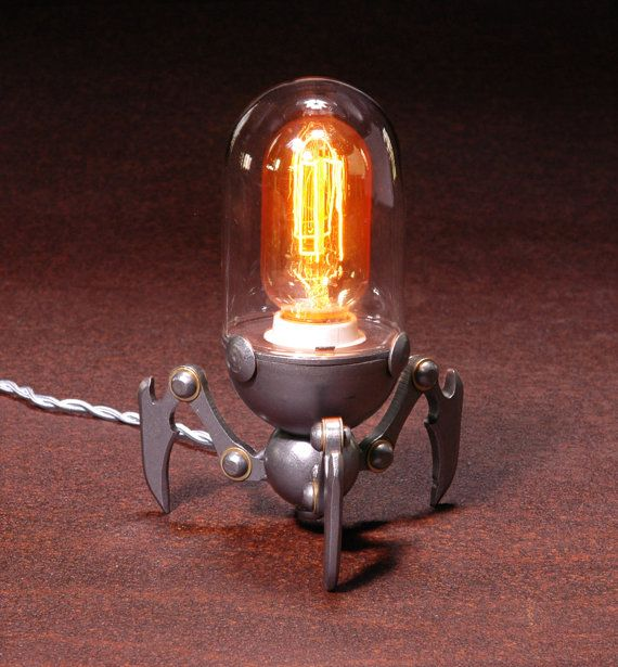 Home Made Lamps 384 best lamparas images on pinterest | steampunk lamp, lighting