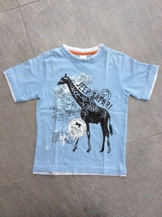 Mein Tolles Palomino T-Shirt hellblau mit Safari Print / Gr. 122 / prima Zustand von Palomino! Größe 122 für 6,80 €. Schau´s dir an: http://www.mamikreisel.de/kleidung-fur-jungs/kurzarmelige-t-shirts/34118486-tolles-palomino-t-shirt-hellblau-mit-safari-print-gr-122-prima-zustand.