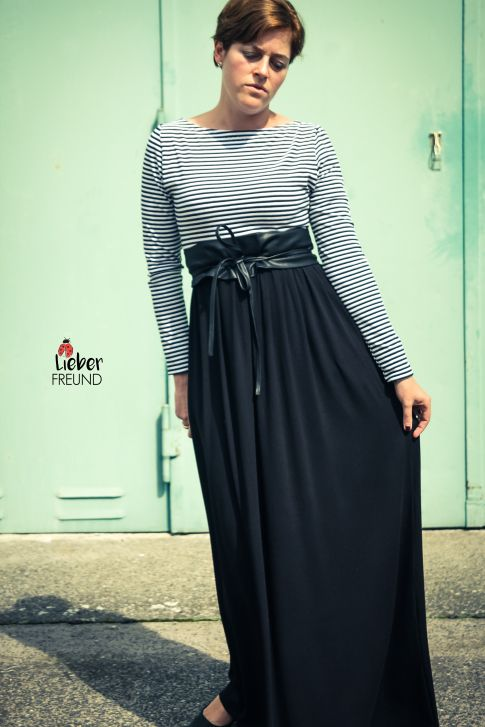 Schnittmuster Kleiderliebe für große Größen. Tolles Schnittmuster für Mollige #Plussize #diy #nähen #schnittmuster